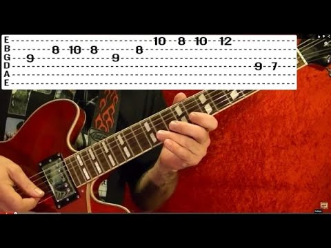10 EASY Popular Solos - Guitar Lesson