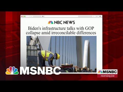 Biden Shifts Infrastructure Focus To Group Of Bipartisan Senators