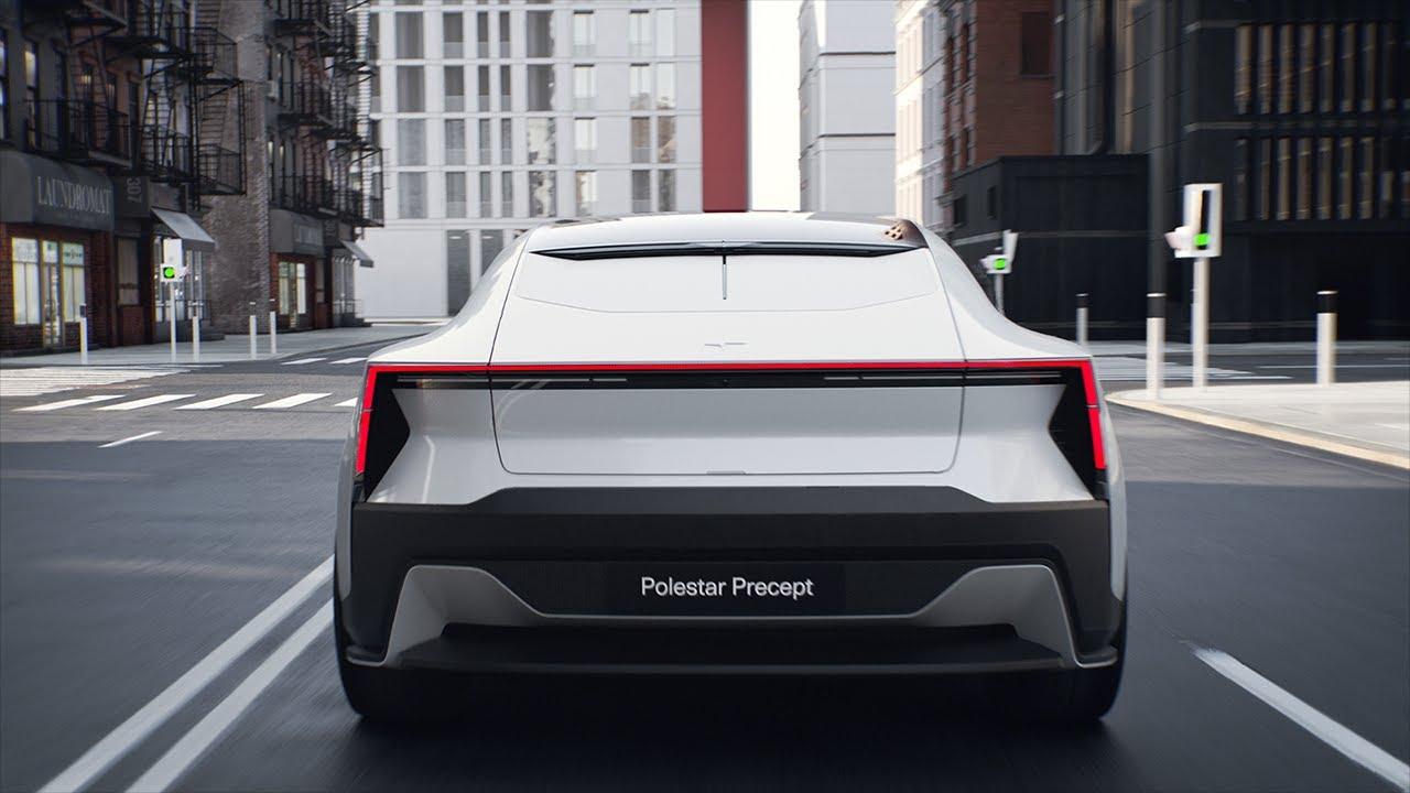 The evolution of the EV – Polestar Precept