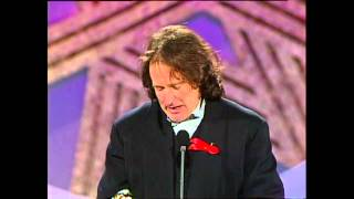Robin Williams wins Best Actor - Golden Globes 1992