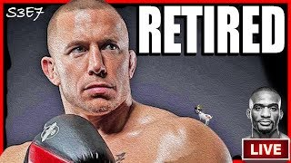 🔴FORMER UFC CHAMP GSP SET TO ANNOUNCE RETIREMENT ON THURSDAY + JUSTIN SUMTER LIVE + MMA NEWS!
