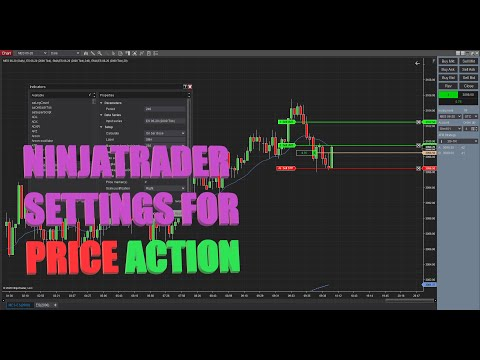 Price Action Trading For Beginners: NinjaTrader Settings for Price Action