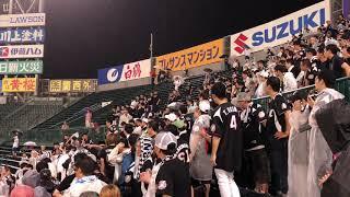 8:07一塁ベンチあたりの席から阪神ファンからのヤジに、ありがと〜と言...