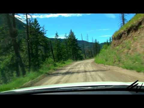 British Columbia Travel (prt 4)   Westwold Towards Douglas Lake  - June 2015 -  YouTube