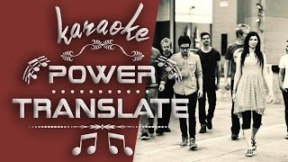KARAOKE POWER TRANSLATE #2 Jesus Culture-Your Love Never Fails