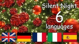 Silent Night in different languages with lyrics | Happy Children