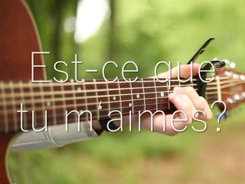 (Maître Gims) Est-ce que tu m'aimes ? - Fingerstyle Guitar Cover
