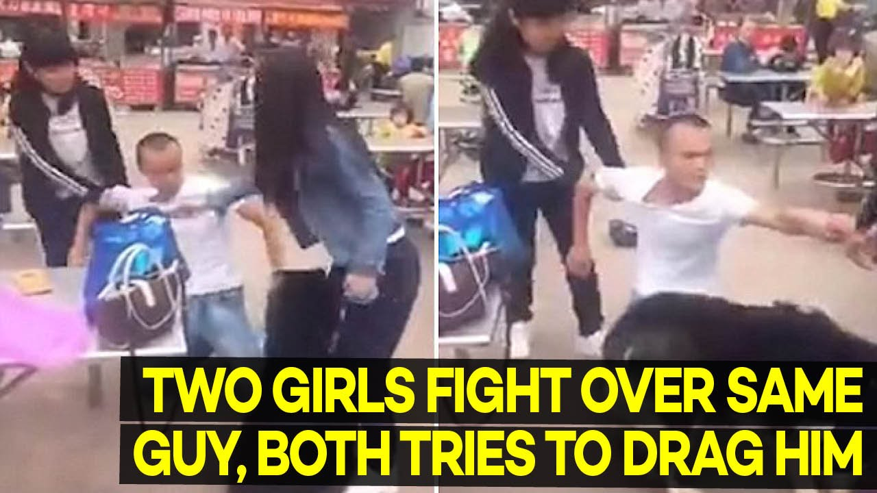 girls fighting over a guy