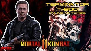 Mortal Kombat 11 Terminator T-800 Online Matches 02 PS4 Pro 1080p 60fps  | He