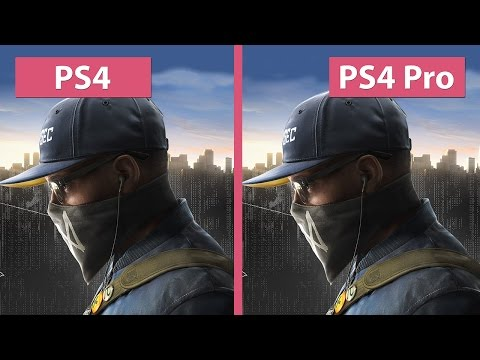 Watch Dogs 2 – PS4 vs. PS4 Pro 1080p Mode Graphics Comparison