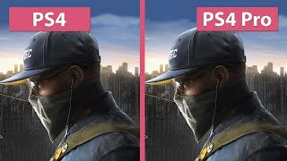 Watch Dogs 2 PS4 vs. PS4 Pro 1080p Mode Graphics Comparison