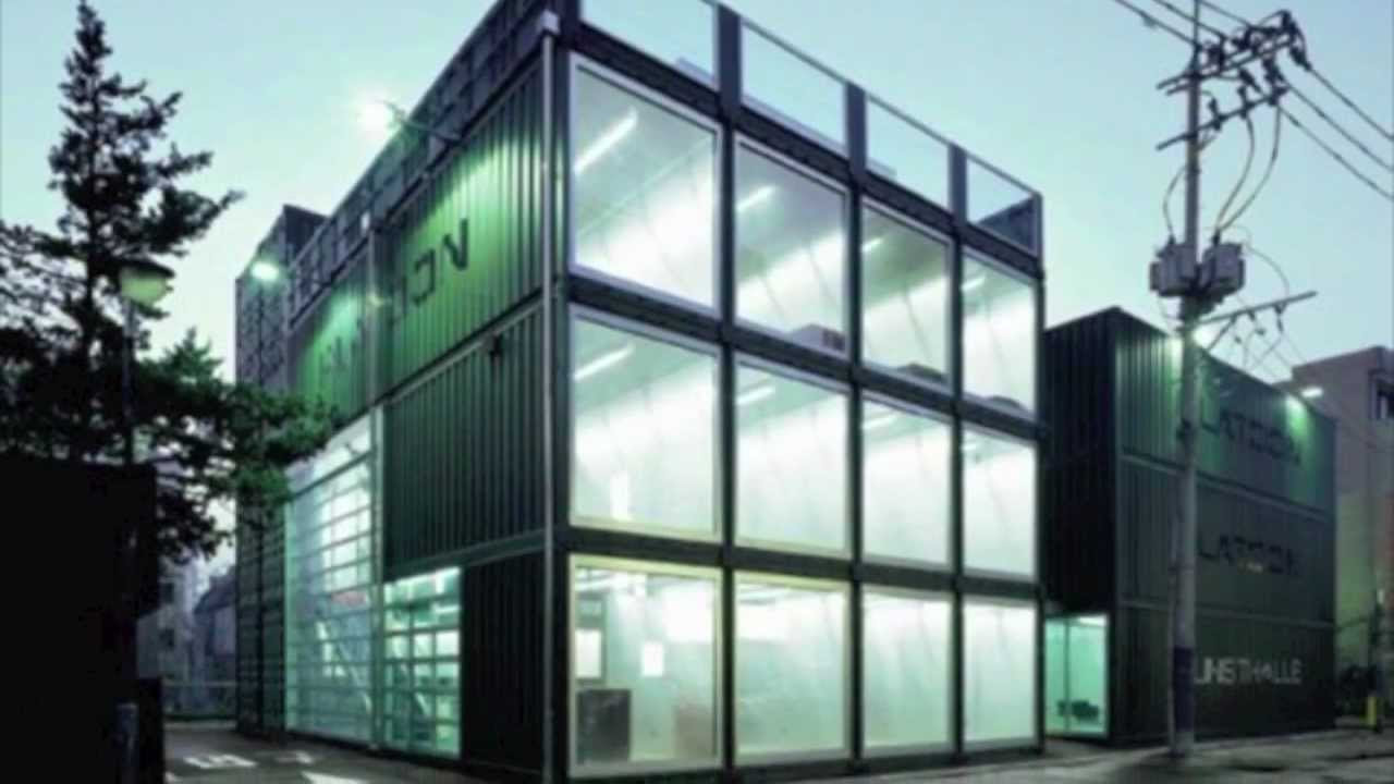 shipping container architecture 2 - youtube