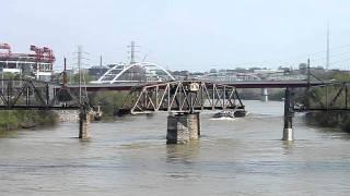 Nashville Railroad Bridge Rotation