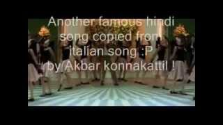 NASHA HE PYAR KA NASHA HE famous hindi song copied from italian song...