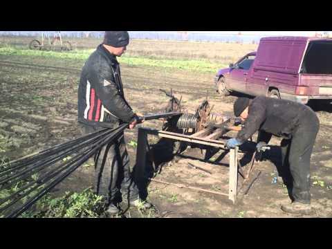 видео: Капельное орошение.Ручная моталка