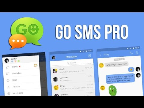 Go SMS Pro for Android - How to Install and Use