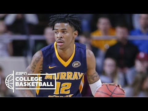 Ja Morant scores 29 points and game winner to lift Murray State | College Basketball Highlights