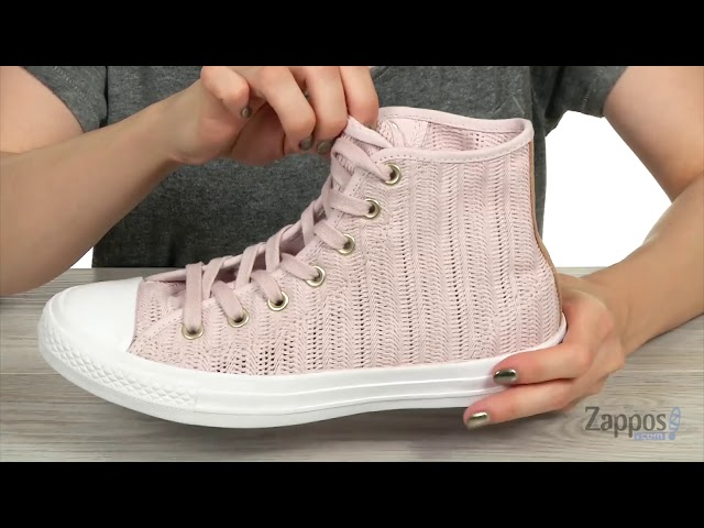 72ccefad732a Converse Chuck Taylor® All Star® Hi - Herringbone Mesh at 6pm