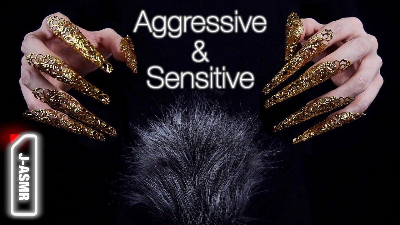 [ASMR]繊細かつ積極的にヘッドマッサージ -  Aggressive and Sensitive Head Massage(No Talking)