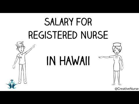 Salary of Registered nurses in Hawaii | CreativeNurse