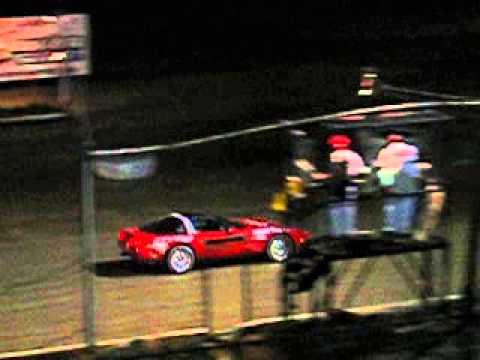 Stoudt Auto Sales Corvette Pace Car at Big Diamond 8 05