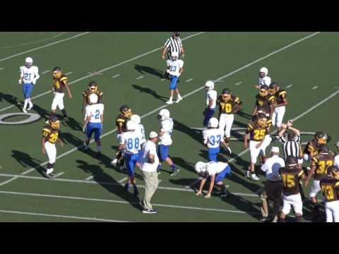 EL Camino Freshman Football Game 2 Rancho Bernardo 09 01 16
