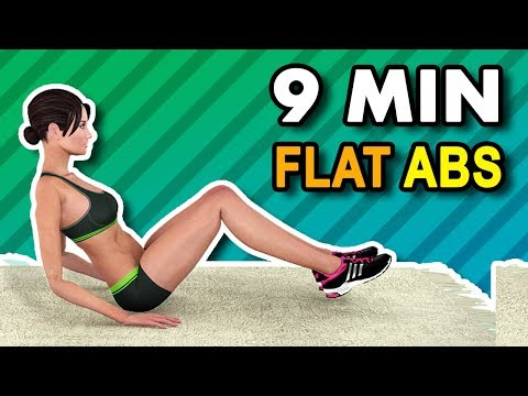 9 Mins To Flat Abs