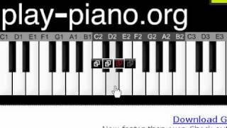 how to play charle brown on piano
