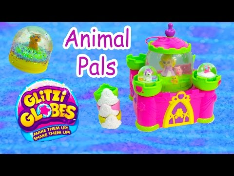 Water Glitter Glitzi Globes 3 Pack Pals For All Seasons Animal Set Opening Playset Fun Cookieswirlc