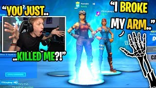 I died to a kid with a BROKEN ARM then CONFRONTED him next game... (emotional)