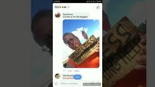 Shane Missler 450 million jackpot winner's Facebook congratulations