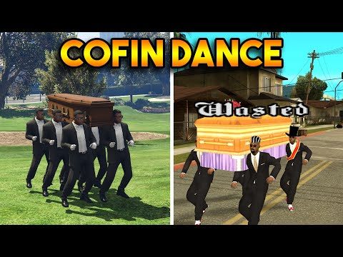 GTA 5 COFFIN DANCE VS GTA SAN ANDREAS COFFIN DANCE : WHICH IS BEST?