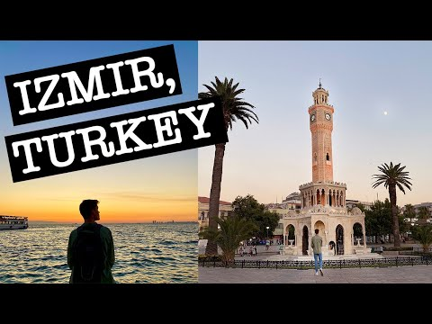 IZMIR, TURKEY - exploring with locals and food