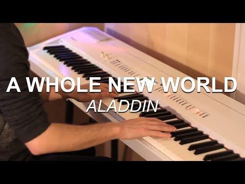 A Whole New World Disneys Aladdin  Piano   Joel Sandberg + Free Download Link