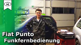 Fiat Punto Funkfernbedienung Nachrüsten  | Fiat Central locking  |  VitjaWolf | Tutorial | HD