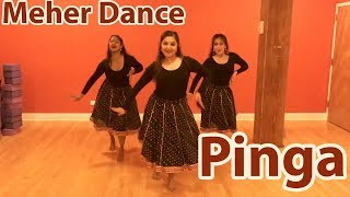 Pinga | Meher Dance | Bollywood Folk Dance | Chicago | Gopi Engineer Choreography | Priyanka Chopra