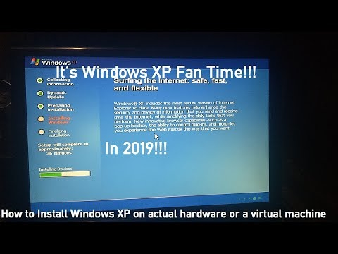 Installing Windows XP In 2019 (Step-By-Step)