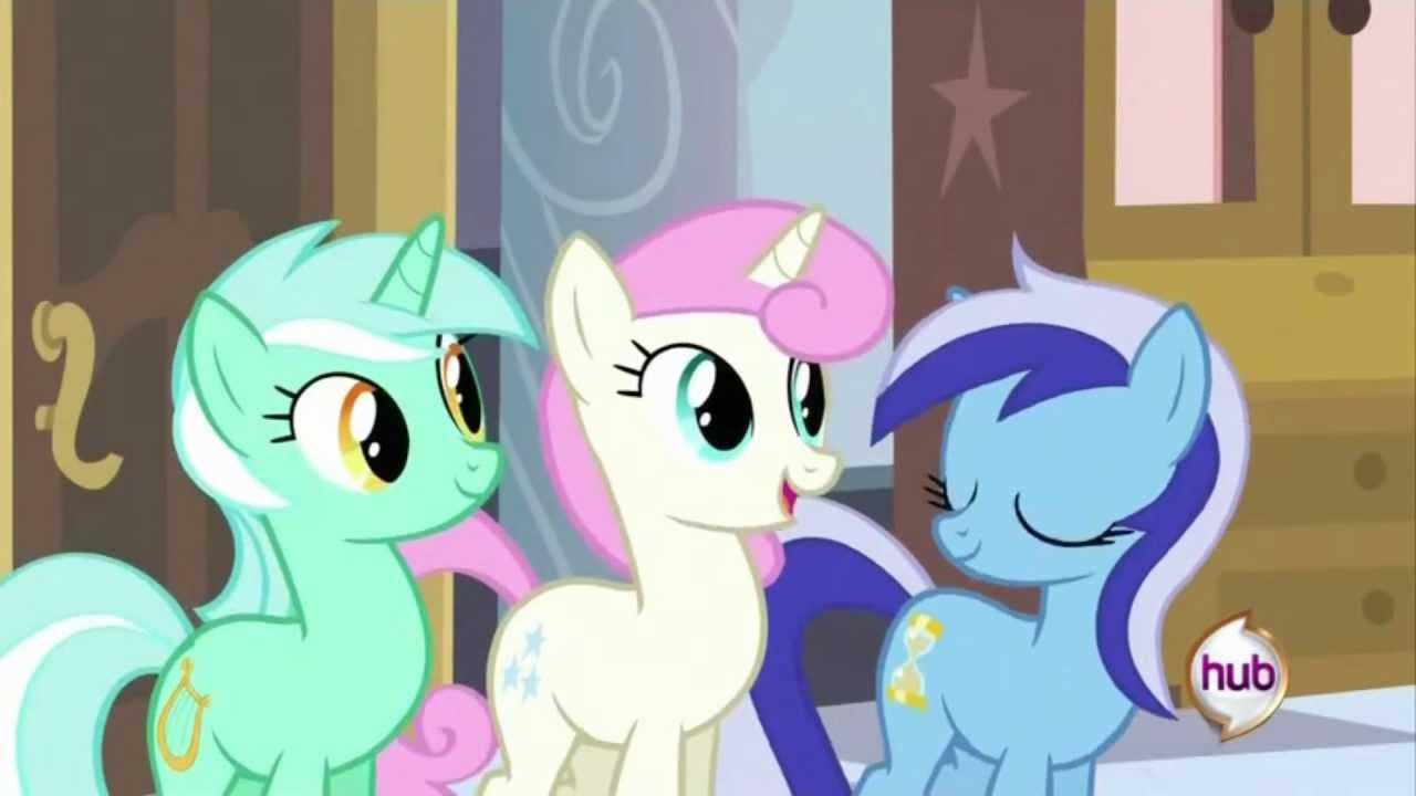 A Canterlot Wedding Lyra Heartstrings Speaks Youtube