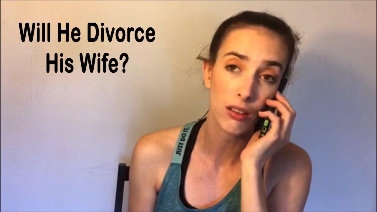 will he divorce his wife