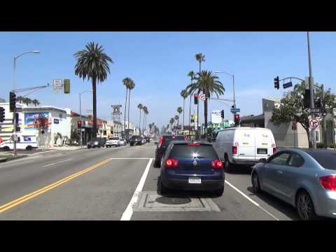 Sunset Boulevard Drive Through, West Hollywood
