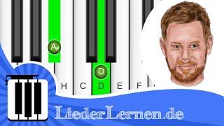 Seeed - Aufstehn - Klavier lernen - Musiknoten - Akkorde