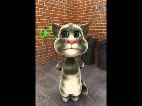 Talking Tom your wife is calling