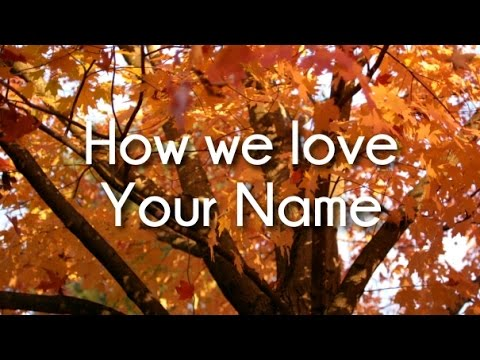 Vinesong - How we love Your Name (Lyric Video)