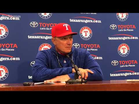 "Jeff Banister: ""I know it's early, but ... """