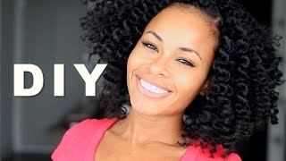 Crochet Braids w/ Mambo Natural Hair! NO Perm Rods & NO Hot Water!
