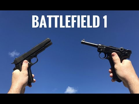 Battlefield 1 Guns In Real Life