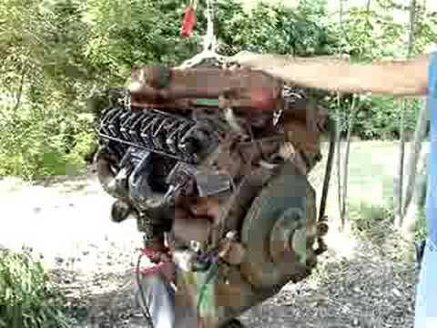 Mopar 413 Max Wedge Engine On Test Stand Funnydog Tv