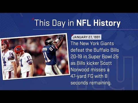 New York Giants Win Super Bowl XXV | This Day In NFL History ( 1/27/1991) | NFL