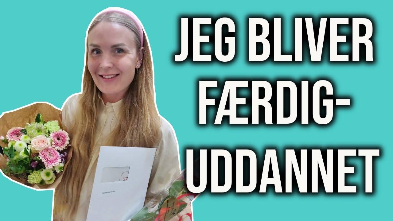 JEG BLIVER FÆRDIGUDDANNET LÆRER // VLOG