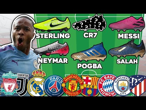 Ultimate Soccer Lineups! Which European Team Has The Best Boots?!